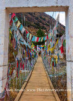 Prayer Flags and Bridge
