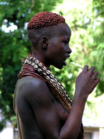 Portrait of a Karo Woman