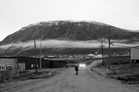 Evening Walk in Pangnirtung